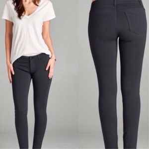 Pants - Black Skinny Jeans